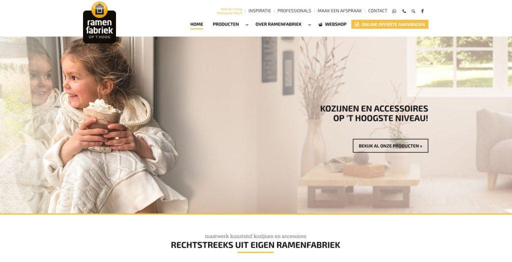 Ramenfabriek op 't hoog screenshot homepage