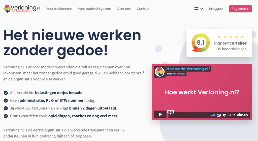 Verloning.nl reviews